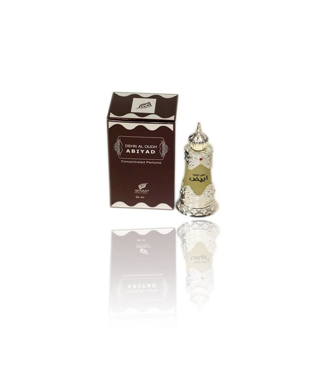 Afnan Concentrated Perfume Oil Dehn al Oudh Abiyad 20ml