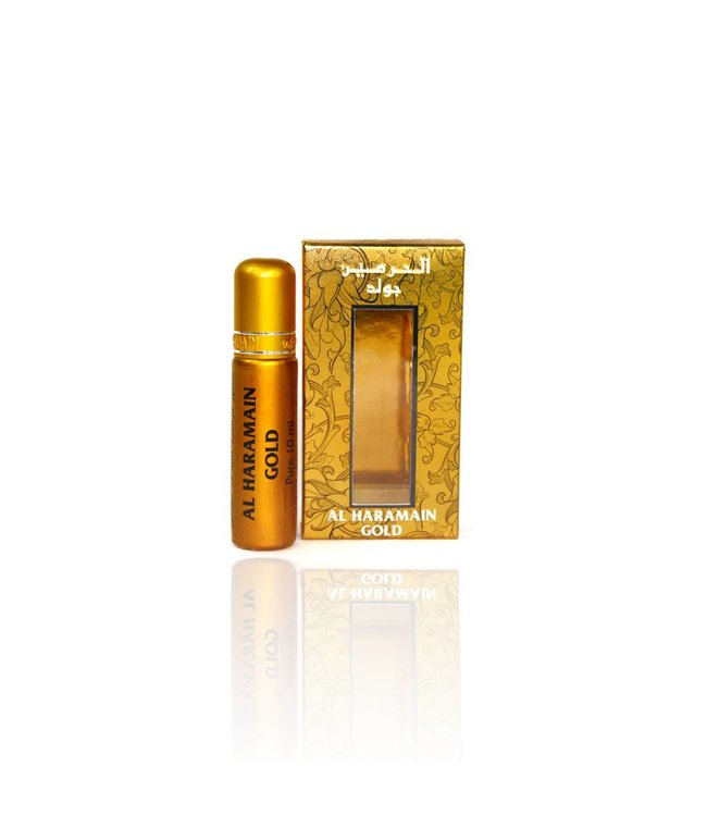Al Haramain Concentrated Perfume Oil Gold - Perfume free from alcohol