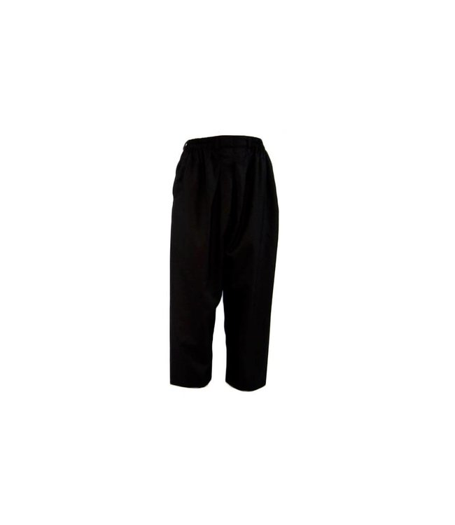 Comfortable and loose-fitting Islamic Sunnah pants in black