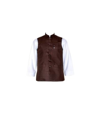 Vest - Dark Brown