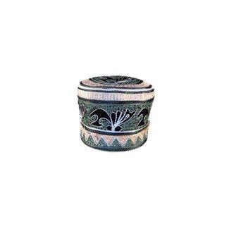 Afrikanische Mütze mit Stickerei / Gr. M(54)