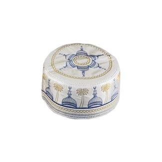 Omani Mütze mit Stickerei / Gr. M(54)