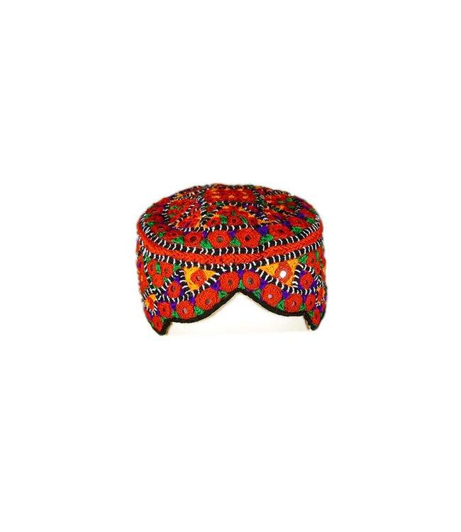 Sindhi Mütze mit Stickerei / Gr. M