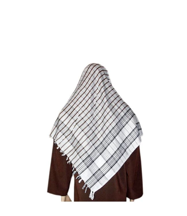 Large Scarf - Shemagh 120x120cm