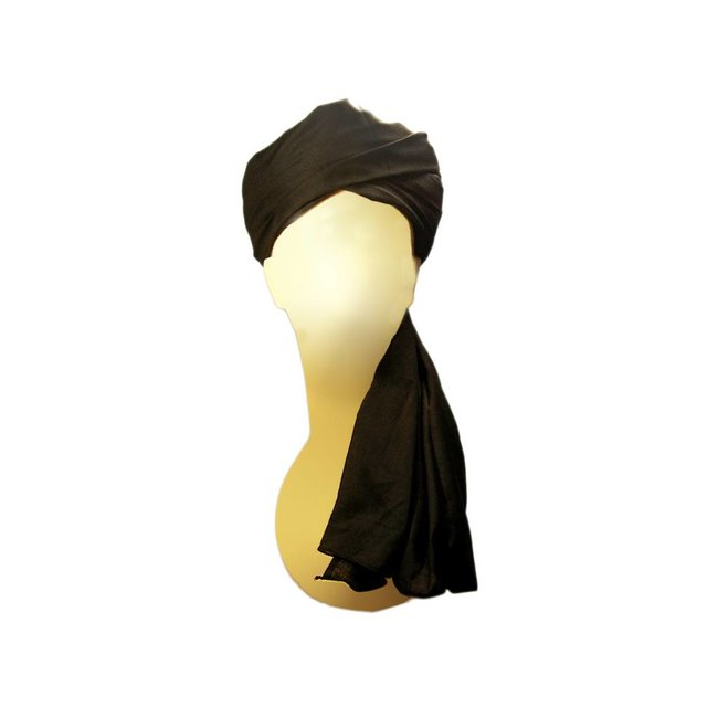Turban Imama in Black