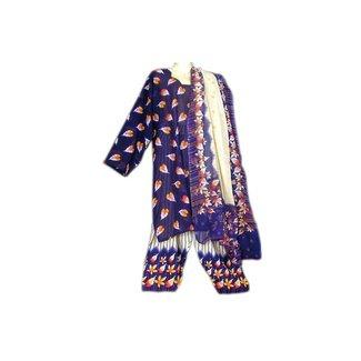 Salwar Kameez - Saira Dark Blue