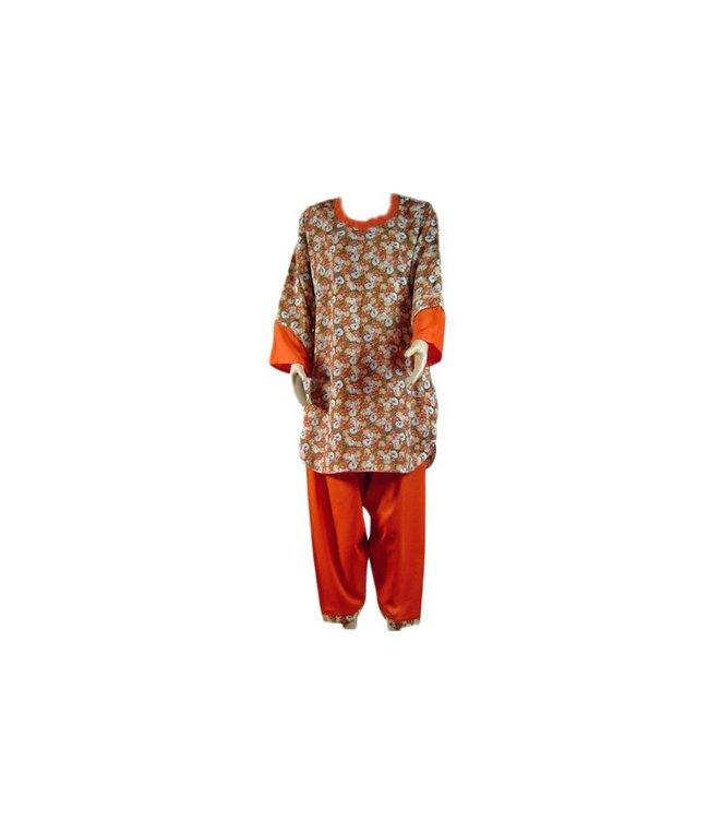 Salwar Kameez Damen - Trendy Bouquet