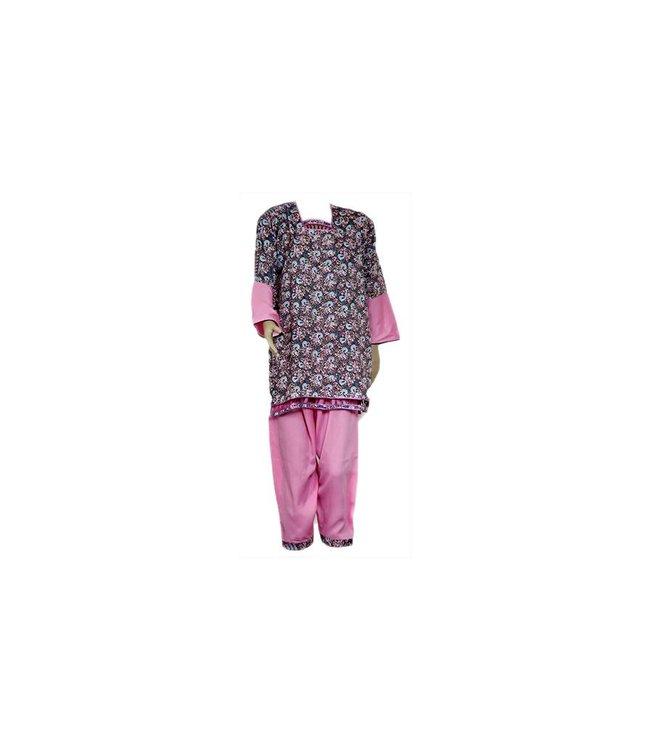 Salwar Kameez Damen - Pink