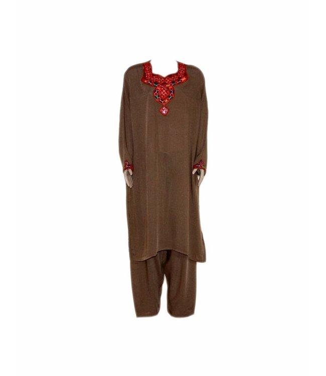 Jabador, takem - Brown Sindhi Style