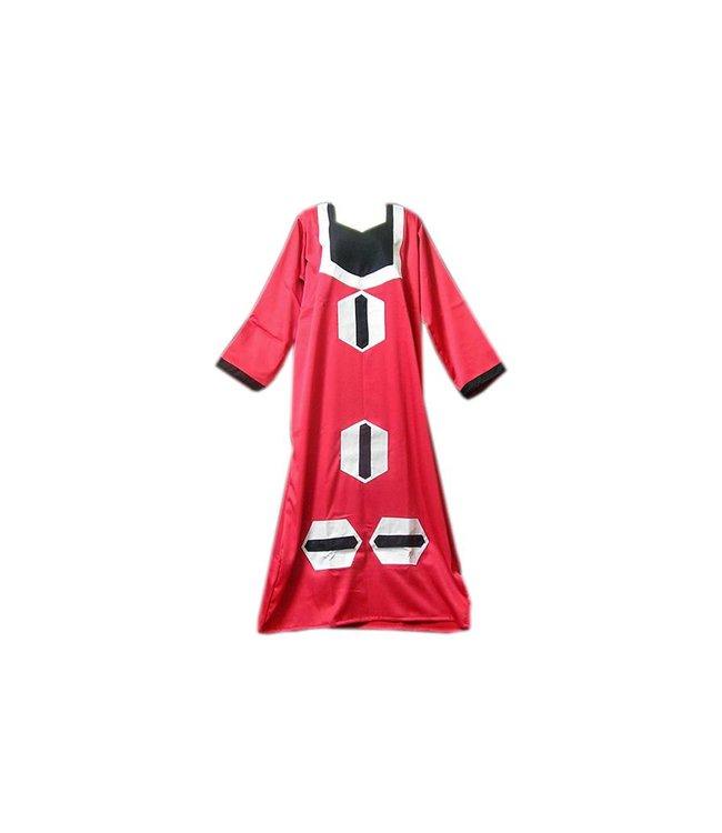 Arabisches Kleid in Pink mit Applikationen