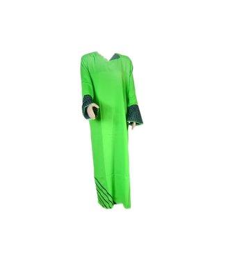 Arabisches Kleid in Grün