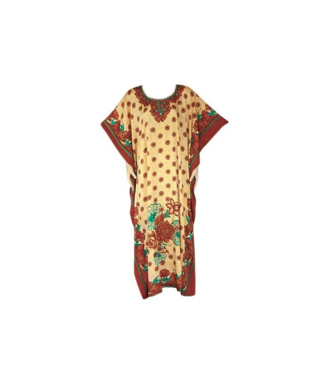 Arabian dress with scarf - Short Sleeve