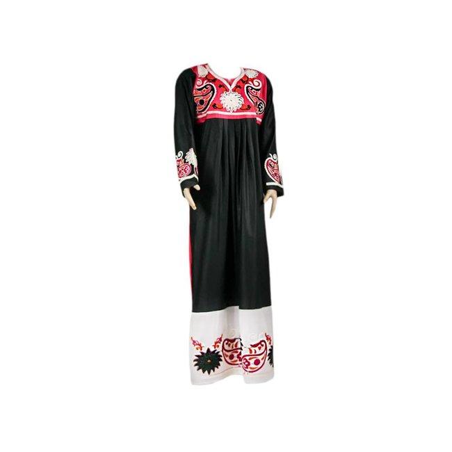 Embroidered Arab Caftan Jilbab - Duotone