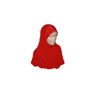 Geraffter Hijab - Verschiedene Farben