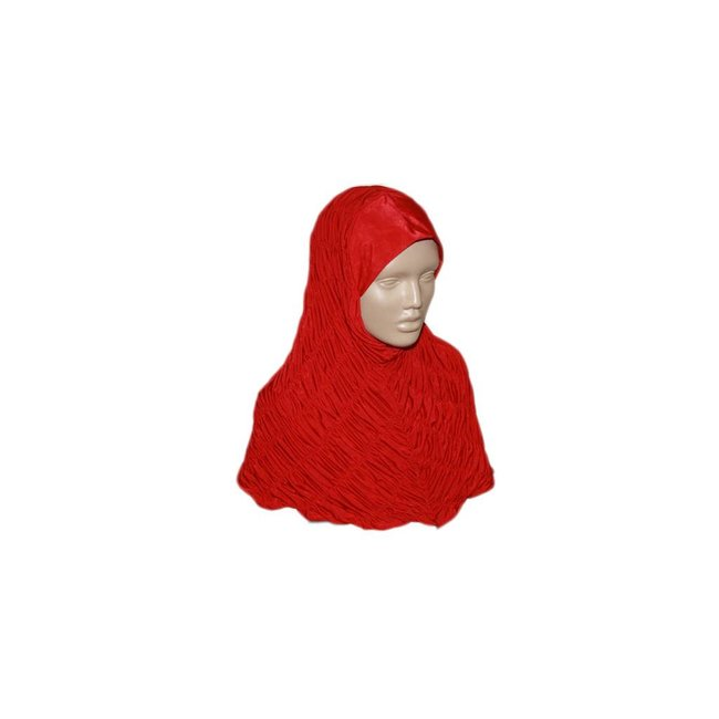 Gathered Hijab - Various colors