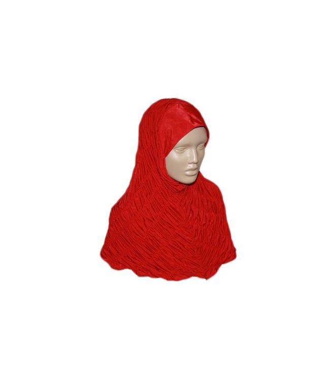 Gathered hijab headscarf - Various colors