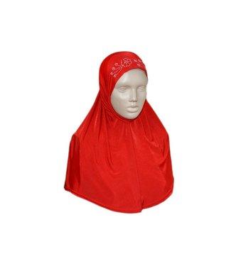 Amira Hijab mit Strass - Verschiedene Farben