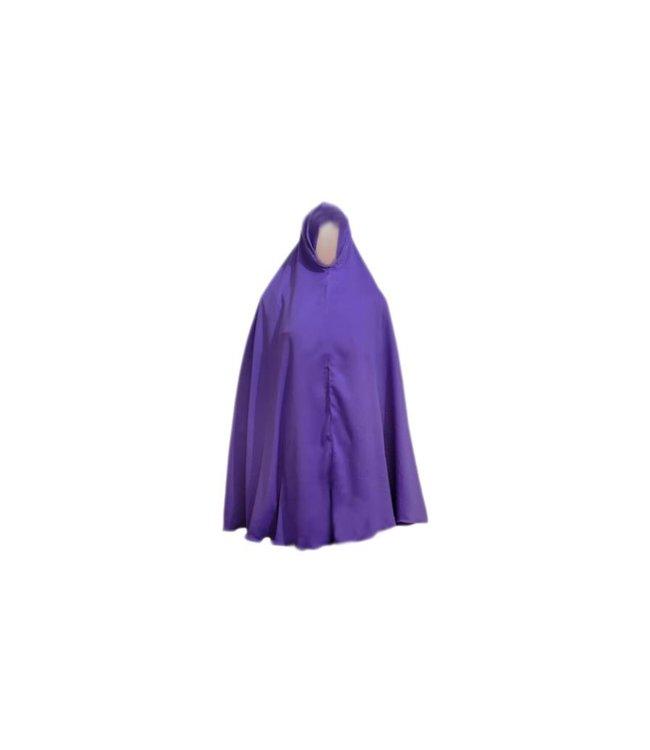 Big khimar hijab in Violet