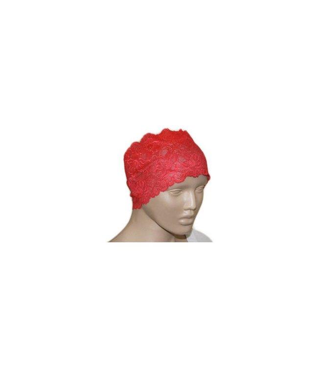 Under headscarf Bone Lace - Red