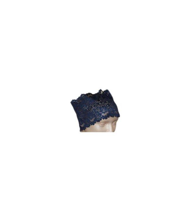 Under headscarf Bone Lace - Dark Blue