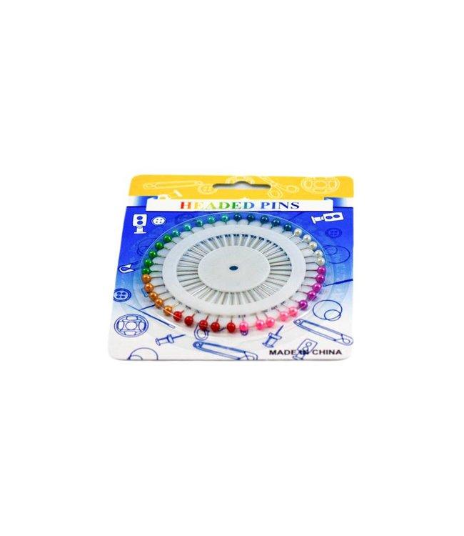 Headscarf needle set Round - Colored