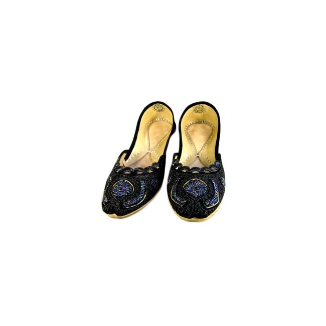 Indische Ballerinas Schuhe aus Leder - Shirin