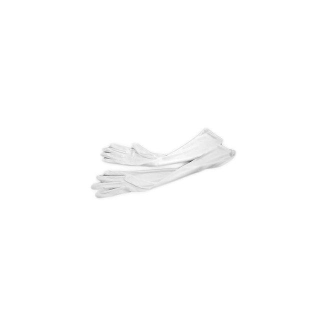 Dünne Handschuhe in Weiss