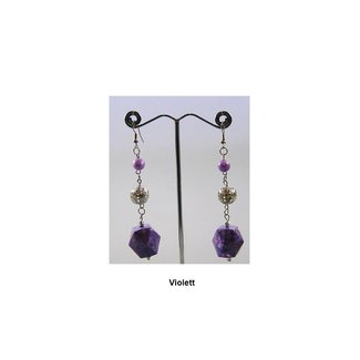 Drop Earrings Pearls - Various colors