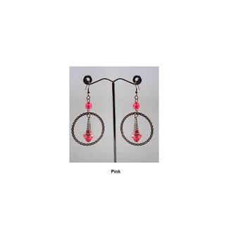 Hoop Earrings Drop Earrings - Various colors