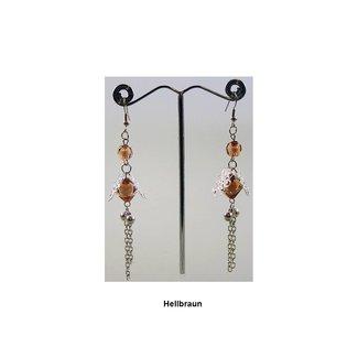 Hängeohrringe Perlenblüte - Verschiedene Farben