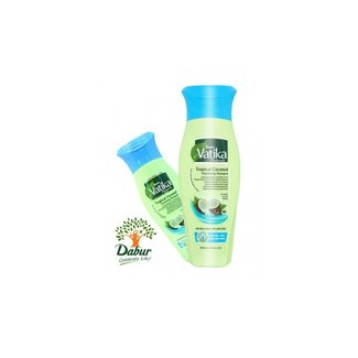 Vatika Dabur Naturals Shampoo - Tropical Coconut (200ml)