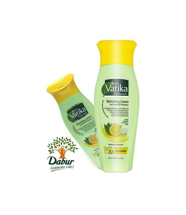 Vatika Dabur Naturals Shampoo - Refreshing Lemon Anti-Schuppen (200ml)