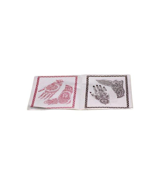Hennabuch mit Design Vorlagen