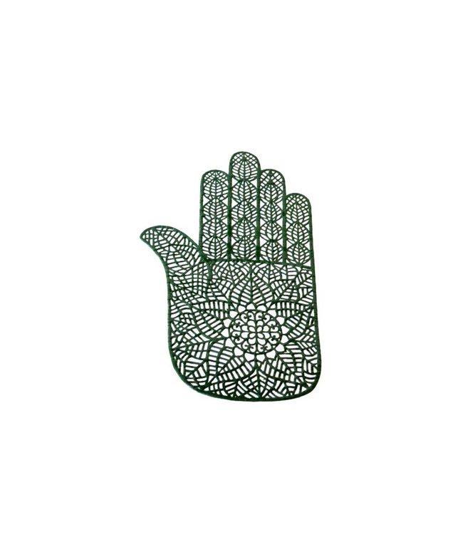 Selbstklebende Hennaschablone Für Tattos - Hand