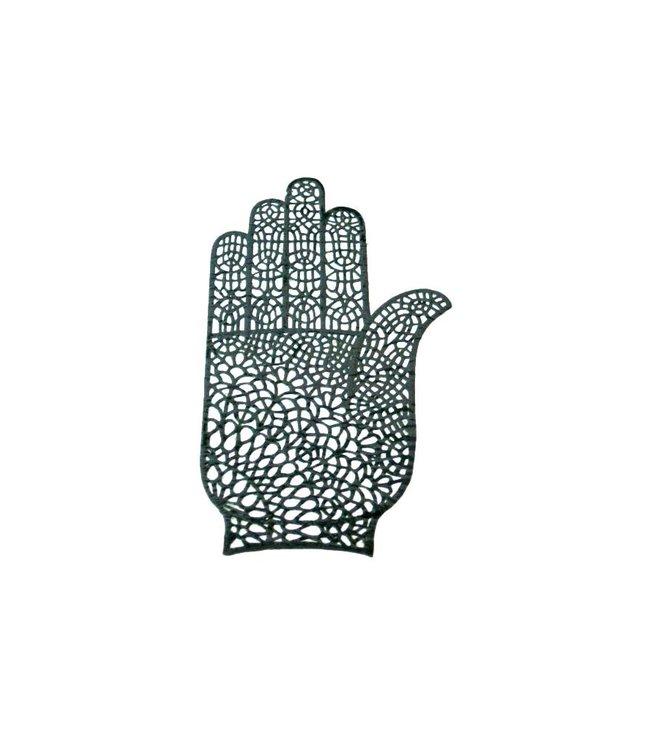 Selbstklebende Hennaschablone For Tattoos - Hand