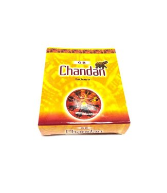 Incense cones Chandan with holder (10 pieces)