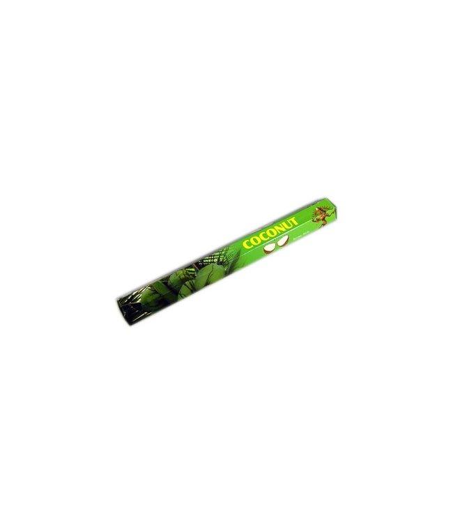 Dhawal Incense Räucherstäbchen mit Kokosnussduft (20g)