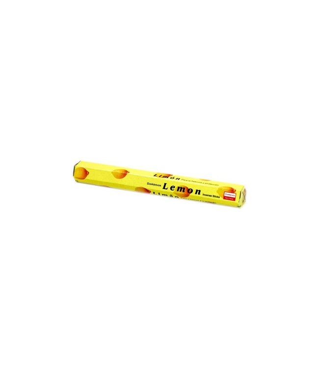 Darshan Incense sticks with Lemon scent (20g)