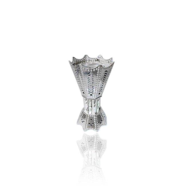 Mubkara - Großes Räuchergefäß Silber