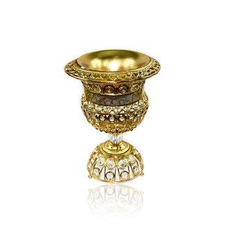 Mubkara - Großes Räuchergefäß Gold