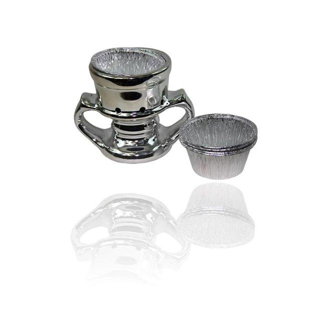 Mubkara - Silver Incense Burner