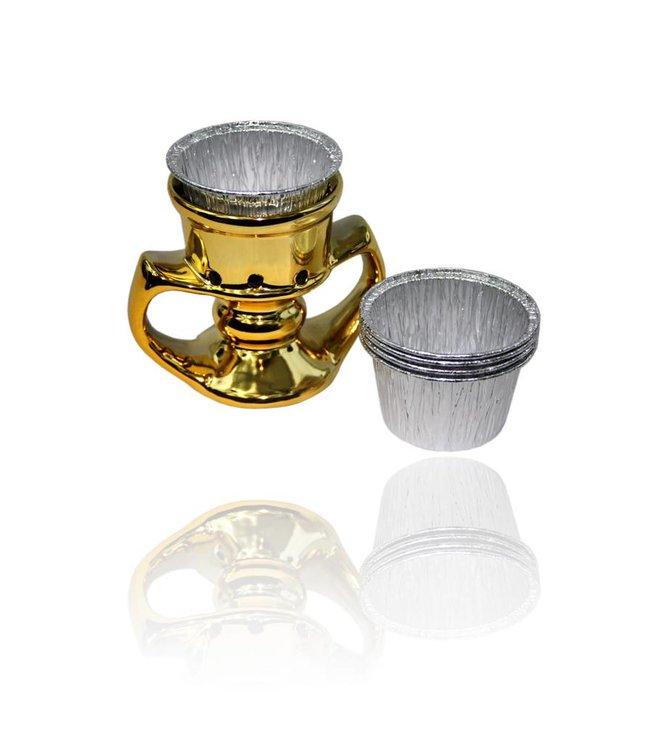 Mubkara - Golden Incense Burner