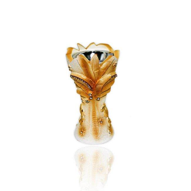 Mubkara - Räuchergefäß Keramik Palme
