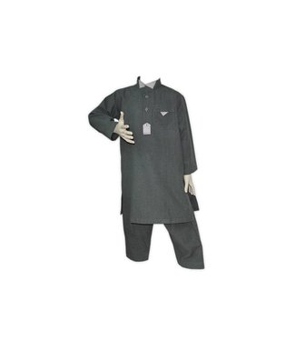 Children Salwar Kameez - Gray