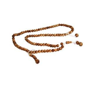 Tasbih prayer beads - round wood
