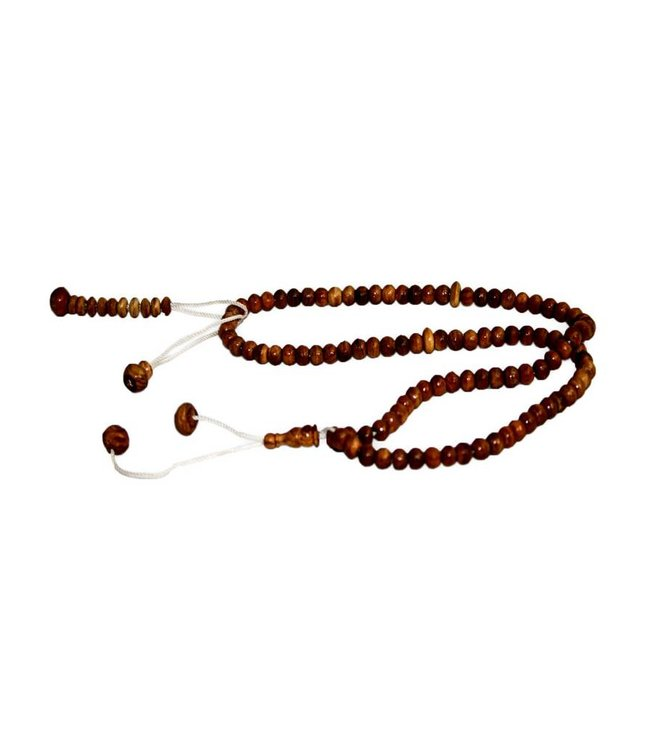 Misbaha Tasbih Prayer Beads - wood round