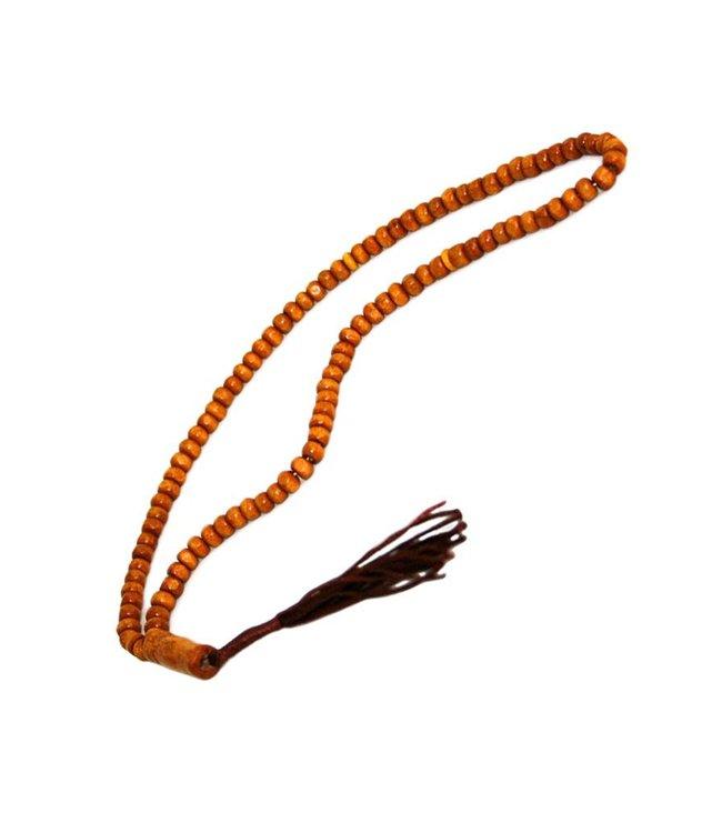 Tasbih Misbaha Gebetskette - Holz Rund 30cm
