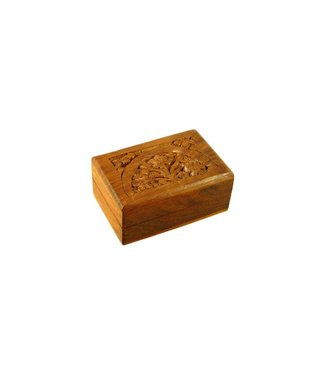 Small box with carvings