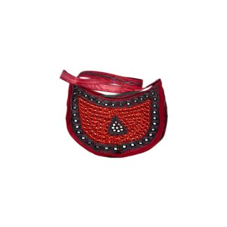 Bag semicircle Dark Red