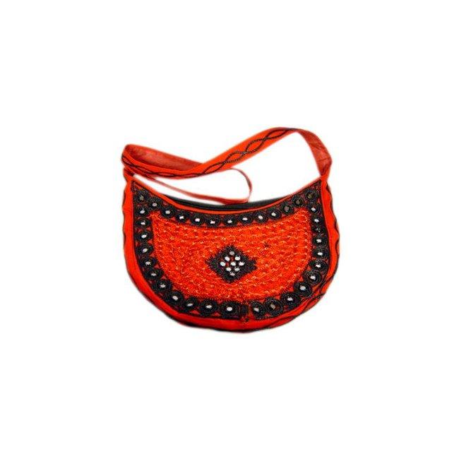 Bag semicircle Red
